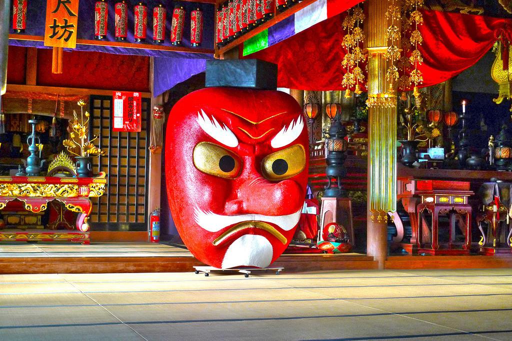 Tengu-Giant-Mask-in-Shizuoka