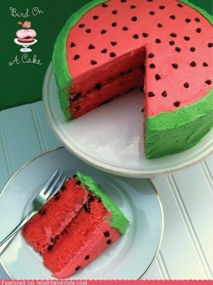 Summertime-Watermelon-Cake