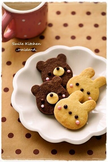 Bunny-Bear-Biscuits