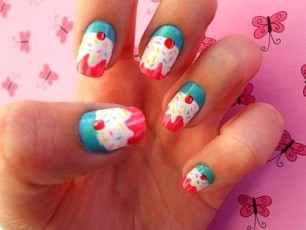 cupcake-nails-yes-please