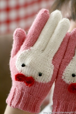 kawaii-bunny-gloves