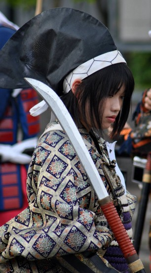 Female-Naginata-Warrior
