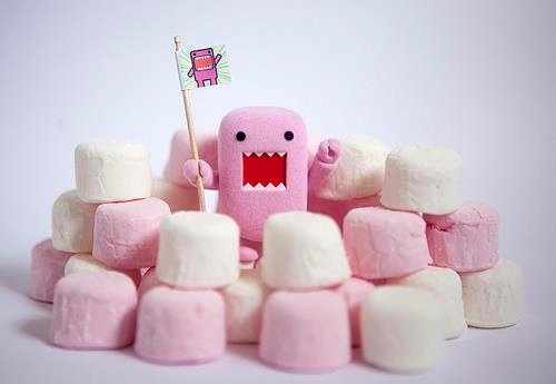Food-Domokun-Marshmallow-Fort