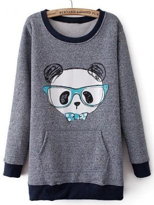 Hipster-Panda