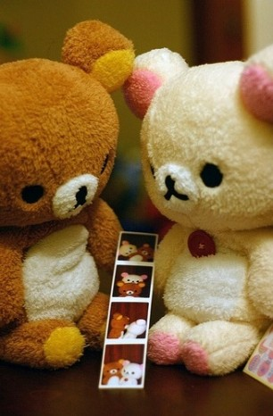 Kawaii-Bears-in-Love