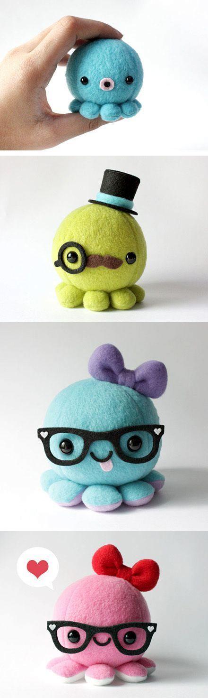 Kawaii-Octopi