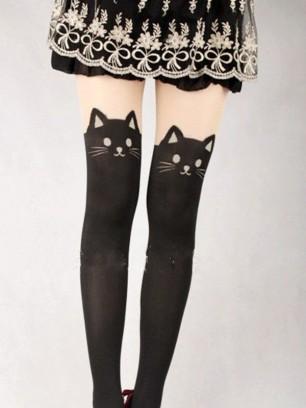 Neko-Knee-Socks