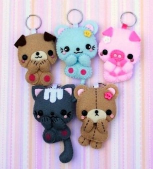 Oh-no-so-cute-keychains