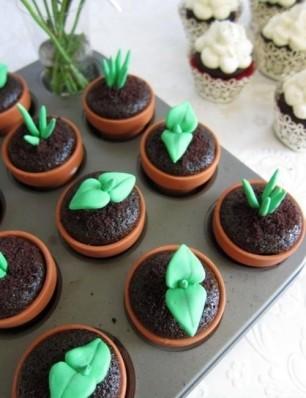 Plant-Cupcakes