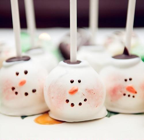 Snowman-Cake-Pops
