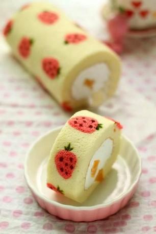 Straweberry-Cake