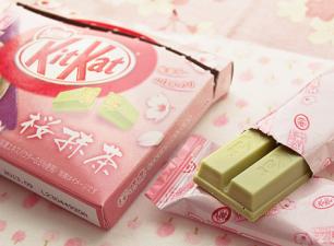 Matcha Sakura Kitkat