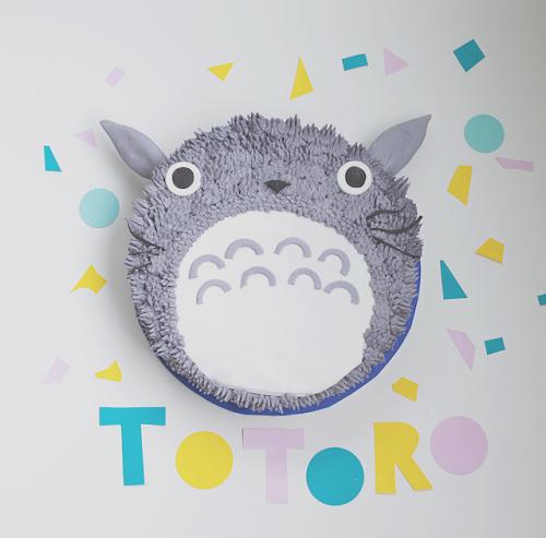 Totoro Cake_