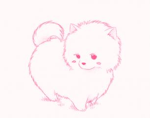Fluffy Cutie