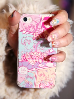 Pinkish Phone Cover