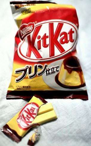 Flan-KitKat