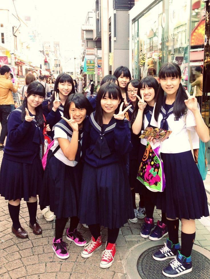 Japanese-SchoolGirls