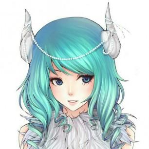 Horned Anime Grl