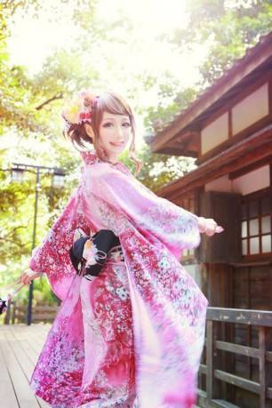 Kawaii Cosplay Kimono