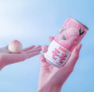 Saki Peach Drink