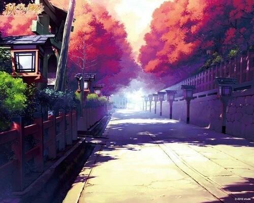 Japanese Street Wallpaper