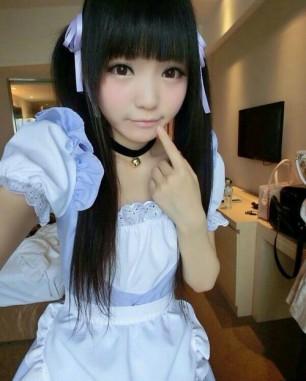 Awww Cute Maid Cosplay