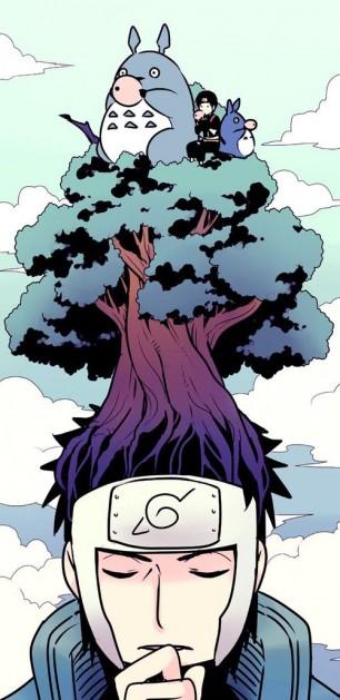 Naruto Totoro Tree