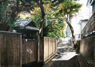 Pencil Tokyo Scene