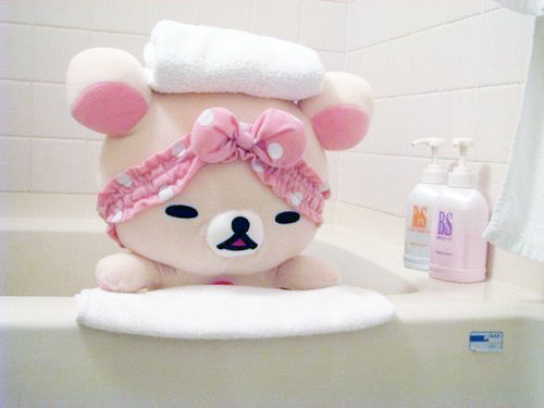 Rilakkuma Bath