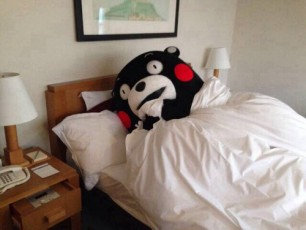Kumamon is Sleepy