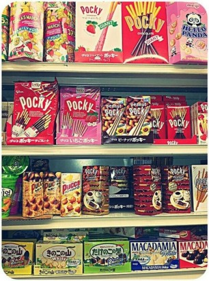 Awww Wall of Pocky