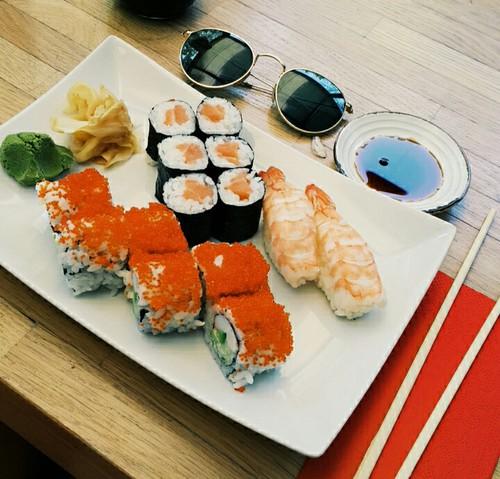 Yummy Sushi Spread