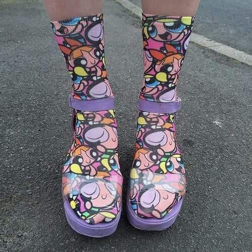 Powerpuff Girls Socks