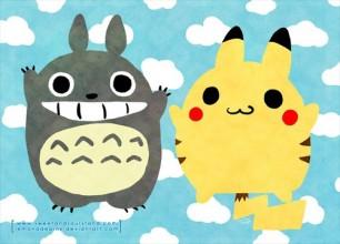 Pika Totoro