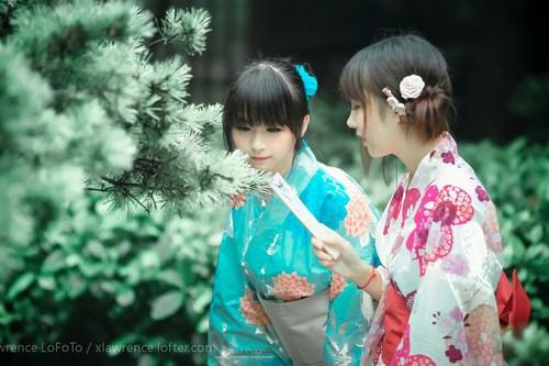 Cuties in Kimono