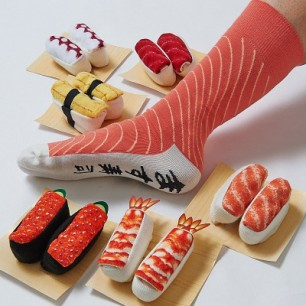 Kawaii Sushi Socks
