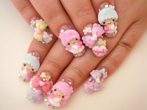 Japanese Kawaii Nail Art