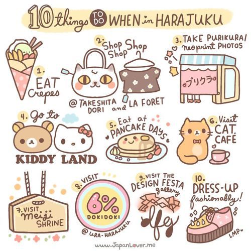 10 Things todo in Harajuku Tokyo