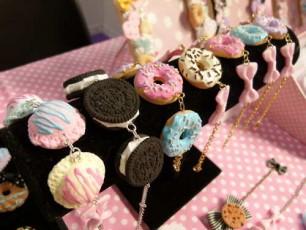 Super Kawaii Food Bracelets