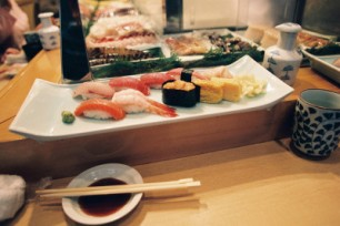 Yummy Sushi Plate