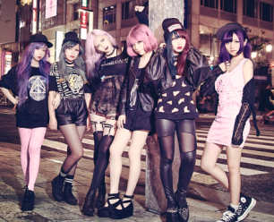 Japanese Punk Girls