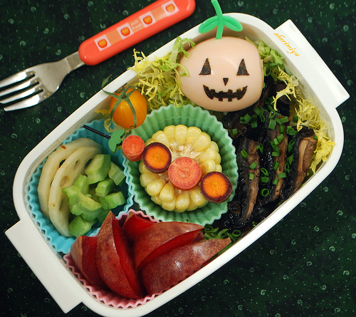 Kawaii-Halloween-Bento