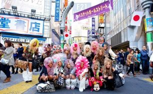 Group Photo From Harajuku