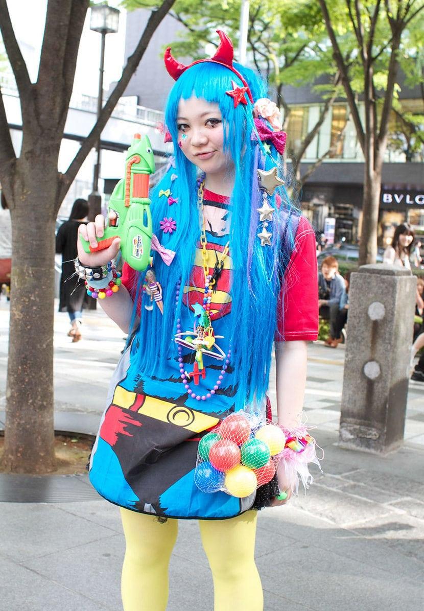 Harajuku Weirdly Blue