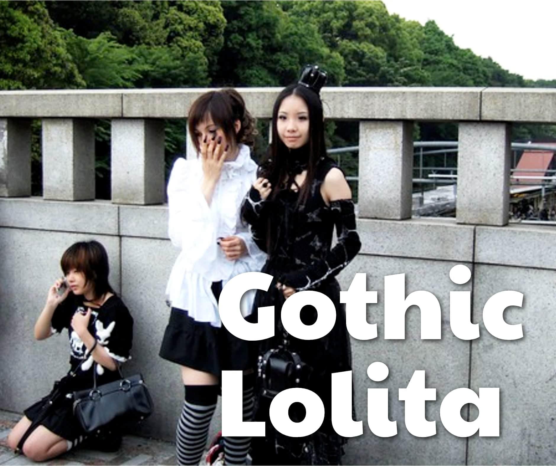 Japanese Gothic Lolita Fashion