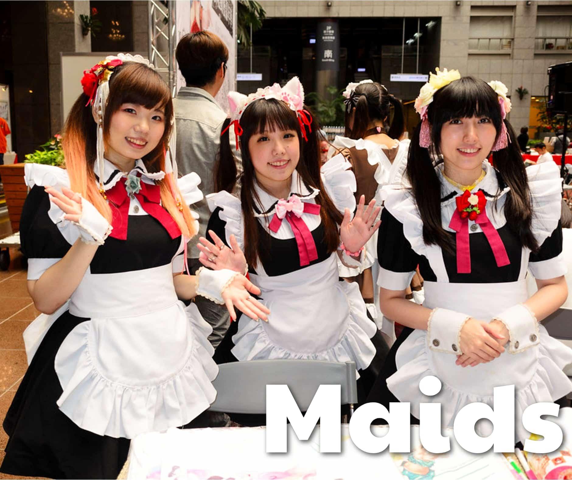 Japanese Kawaii Girl Fashion Maids