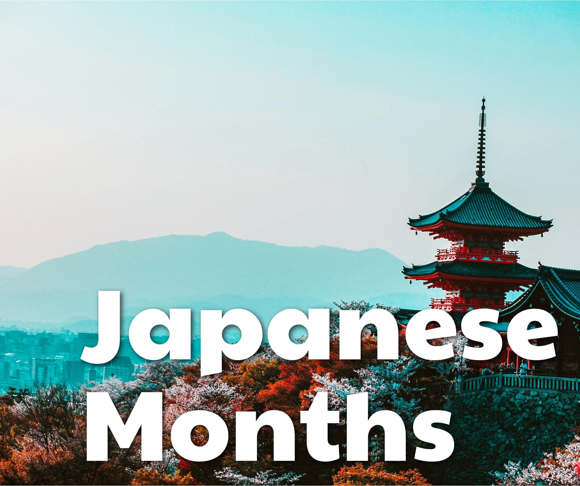 The Months in Japanese