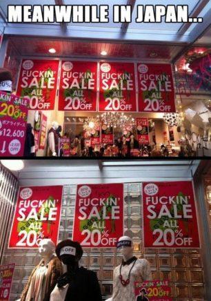 Yeah Fuking Sale
