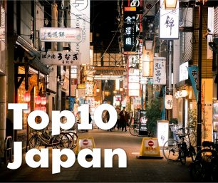 Top10 Interesting Facts on Japan